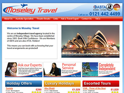 Non Bookable Travel Websites